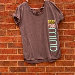 Tops - Cute yoga shirt